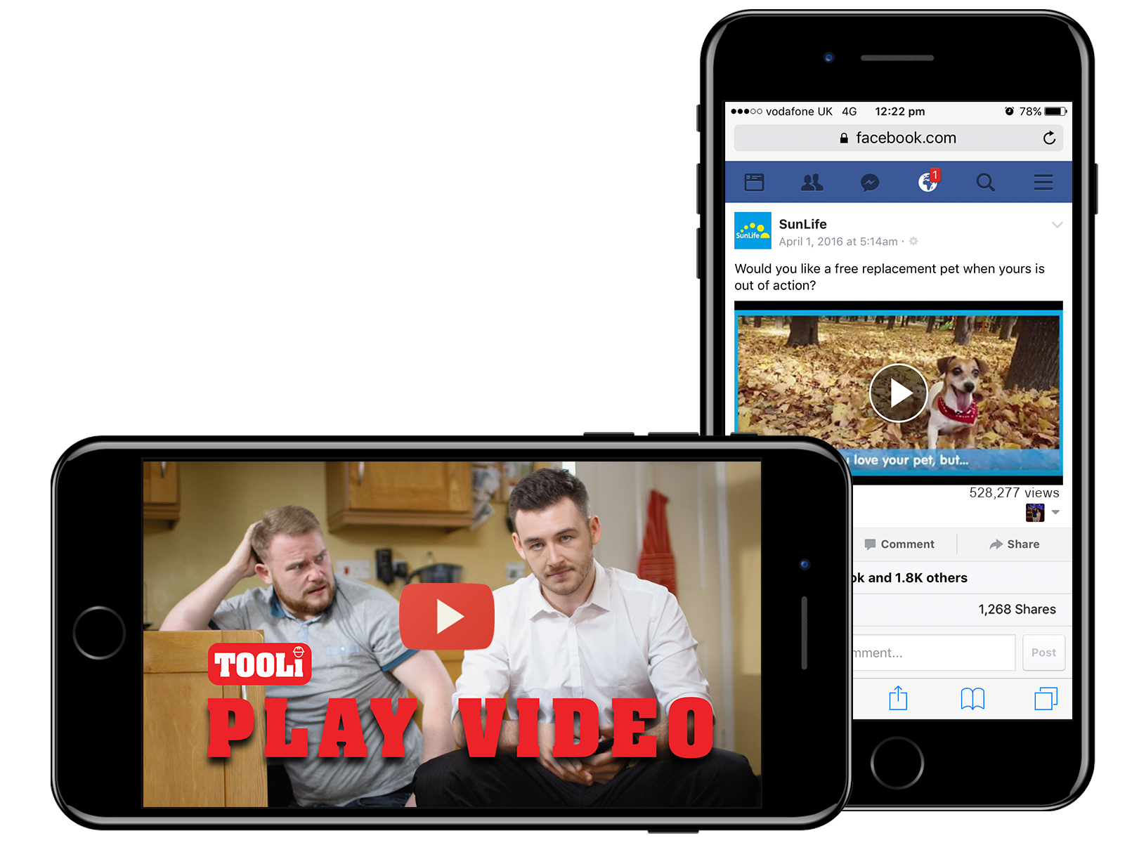 Video production Preston | Manchester | Lancashire TOOLI and SunLife mobile phone results