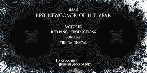 nominated for best newcomer of the year