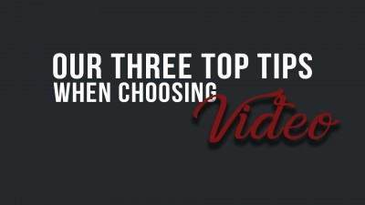 Our top video tips