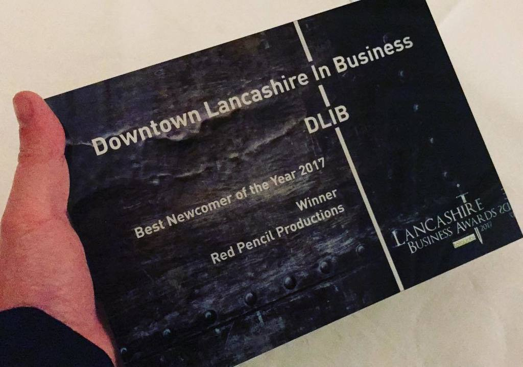 We Won! Our DIB Lancs Award
